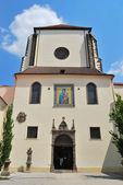 Praga. Iglesia de nieve virgen María