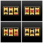 Playing cards slot machine