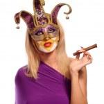 Постер, плакат: Woman with cigar