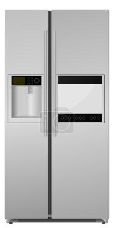 Refrigerator. vector...