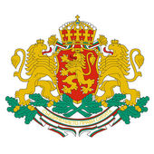 Vector illustration of the national coat of arms of Bulgaria