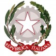 Vector national coat of arms of Italy...