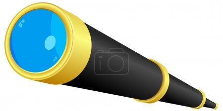 Telescope. vector