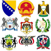 Set of vector emblems