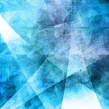 Illustration for Blue grunge background. Eps 10 vector - Royalty Free Image