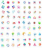 72 different colorful vector icons: (set 1)