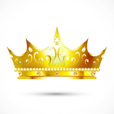 Photo for Gold crown - Royalty Free Image
