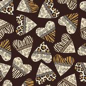 Stylish african seamless background