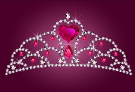 Photo pour Petit diadème de princesse - image libre de droit