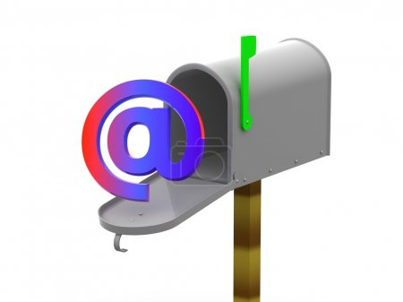 Photo for Mailbox 3d - Royalty Free Image