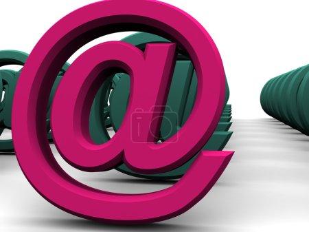 Photo pour Symbole. 3d - image libre de droit