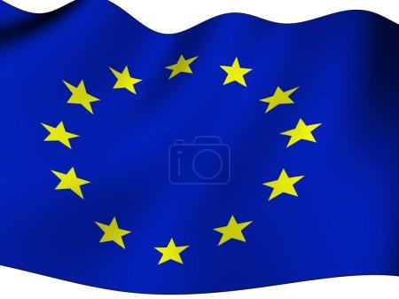 Photo for European flag - Royalty Free Image