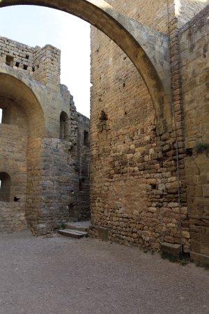 Yard of a Castle of Loarre