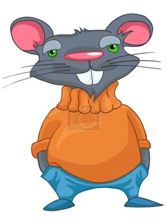 Cartoon Character Rat