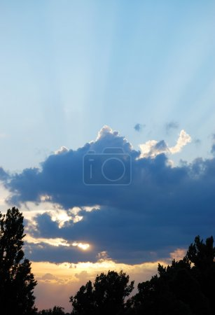 Photo for Picturesque sunset - Royalty Free Image