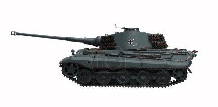 Photo pour Le réservoir modèle King Tiger 2 de la WW2 - image libre de droit