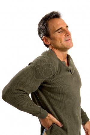 Back Pain Man