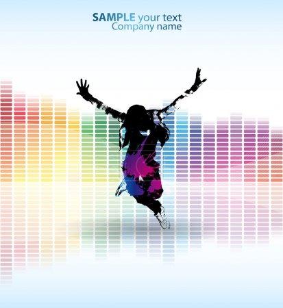Colour dance poster
