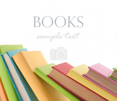 Many colorful books