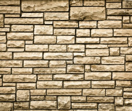 Persistence concept, background of brick wall texture