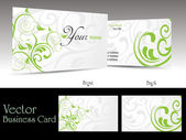 Beautiful gift card vector illustration