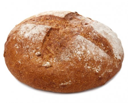 Healthy bread isolated