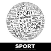 SPORT Globe with different association terms