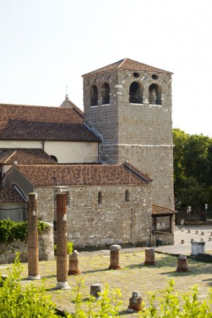 St. Giusto cathedral and roman ruins
