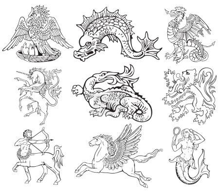 Heraldic monsters vol VII