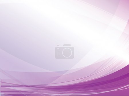 Illustration for Vector abstract purple lines. Use it for your presentations like background. - Royalty Free Image