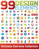 Big collection of vector icons