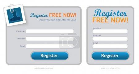 Clean Registration Form