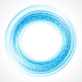 Abstract smooth light circle
