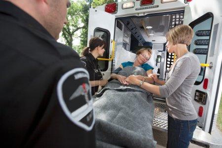 Senior Care Ambulance Emergency