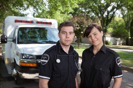 Paramedic Team Portrait