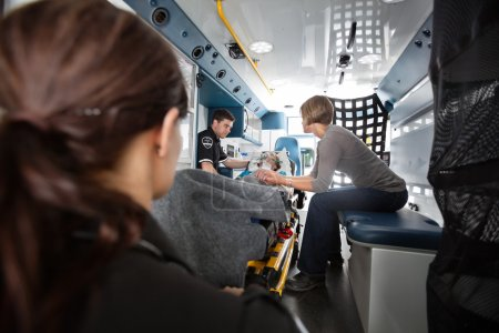 Emergency Transport Ambulance Interior