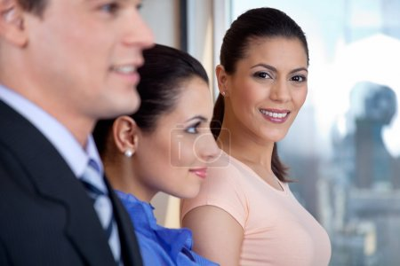 Attractive Female Executive Smiling