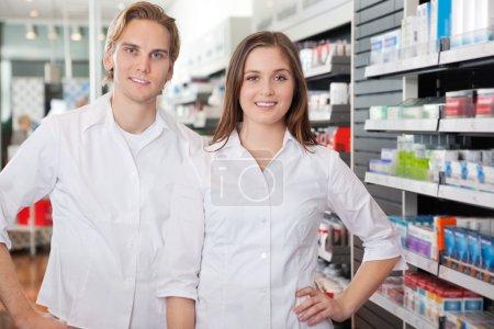 Portrait of Pharmacist Technicians