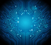 Circuit board vector background