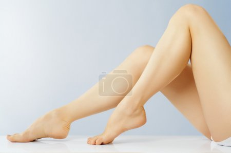 Photo for Beautiful shapely female legs - Royalty Free Image