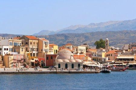 Quayside in Chania. Crete, Greece