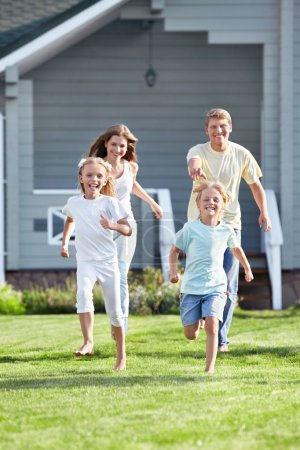 An active family