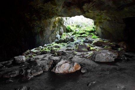 Photo pour Sortie de la grotte . - image libre de droit