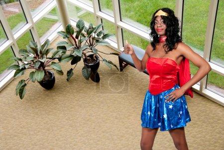 Woman in Costume
