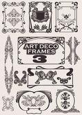 Set Of Art Deco Frames Others In Portfolio