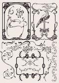 Set Of Art Deco Frames And Design Elements Others In Portfolio