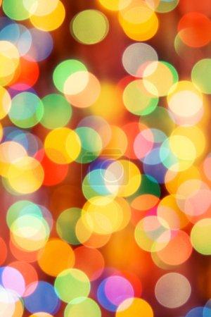 Foto de Luces festivas. puede ser utilizado como fondo - Imagen libre de derechos