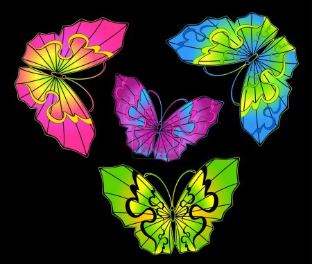 Beautiful butterfly for a design...