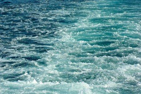 Photo for Ships wake - Royalty Free Image