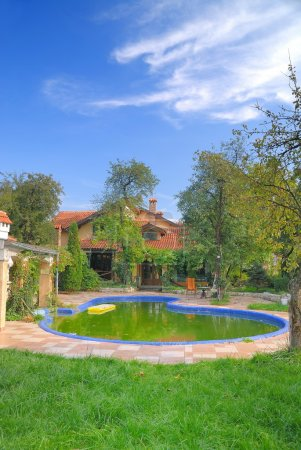 Luxury house with swimming pool